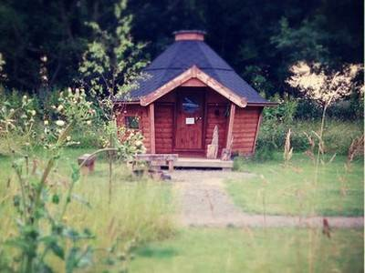 The Hideaway Eco Glamping Pods @Baxby Manor