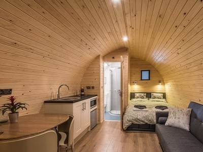 Deluxe Pods at Abbey Farm