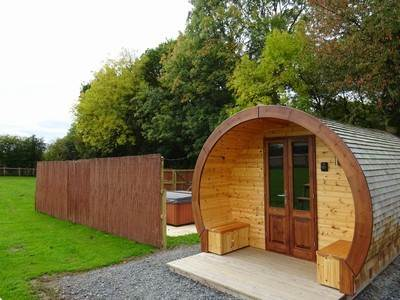 Willow Glamping Pod at Castle Farm Holidays