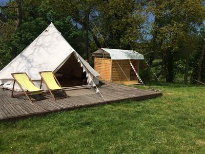 Onnen Bell Tent at Henfryn Farm