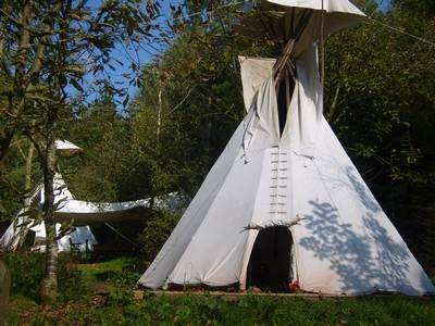 Lark Tipi at Woodlands Farm