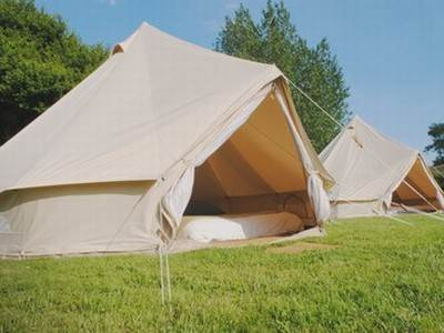 Bell Tents at Cider Orchard