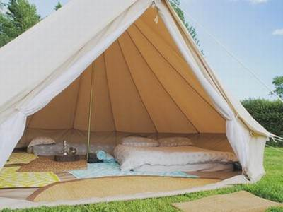Sky Bell Tent at Cider Orchard