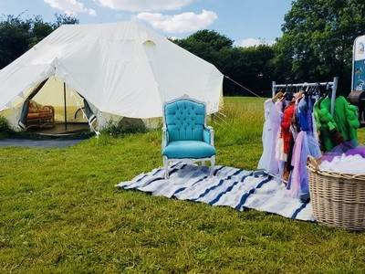 Star Gazing with Hot Tub & Mimosa (Luxury Tents)