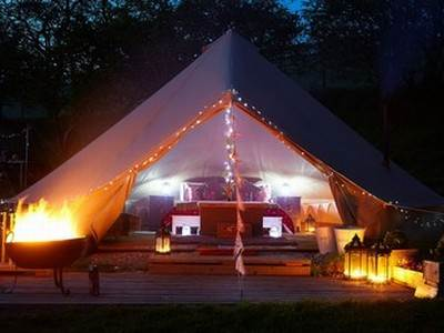 Merry Dale Bell Tents - Standard Plus
