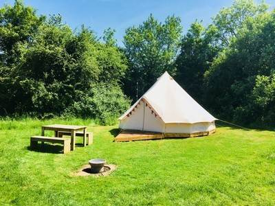 Blackcurrant Bell Tent