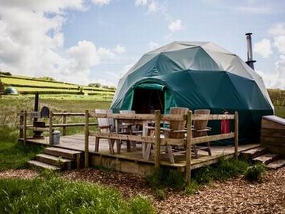 Hazel Dome Glamping at Cosy Under Canvas