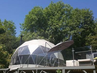 The Star Dome at Woodland Escapes