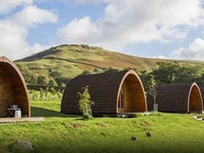 Caslerigg Hall's Glamping Pods