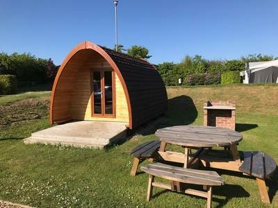 Family Glamping Pod at Jacobs Mount Caravan Park