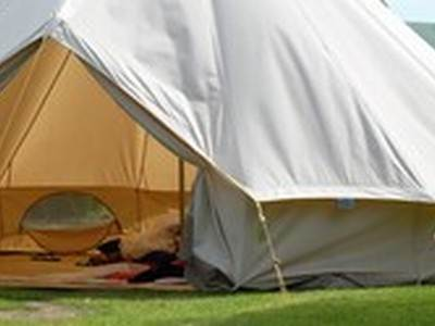 Bell Tent Glamping at Osea Leisure Park