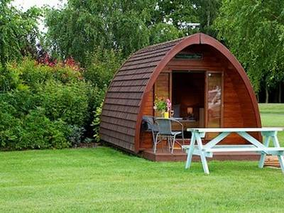Posh Glamping Pods at Applewood Glamping