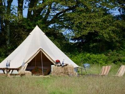 Bell Tent Glamping at Sloeberry Farm